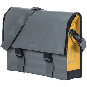 Basil Urban Load Schoudertas 15-17l, stormy grey/gold